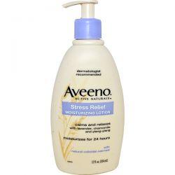 Aveeno, Active Naturals, Stress Relief Moisturizing Lotion, 12 fl oz (354 ml) Biografie, wspomnienia