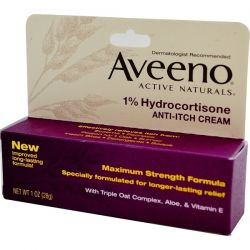 Aveeno, Active Naturals, 1% Hydrocortisone, Anti-Itch Cream, 1 oz (28 g) Biografie, wspomnienia