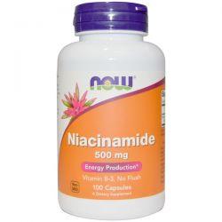 Now Foods, Niacinamide, 500 mg, 100 Capsules Biografie, wspomnienia
