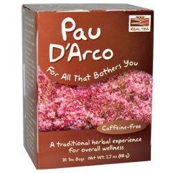 Now Foods, Real Tea, Pau D'Arco, Caffeine-Free, 24 Tea Bags, 1.7 oz (48 g) Biografie, wspomnienia