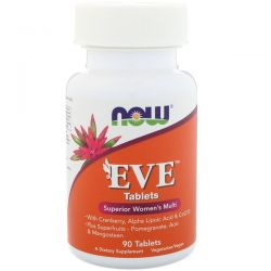 Now Foods, Eve, Superior Women's Multi, 90 Tablets Biografie, wspomnienia
