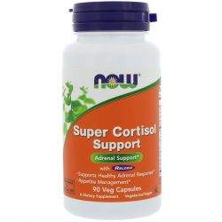 Now Foods, Super Cortisol Support, 90 Veg Capsules Pozostałe