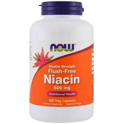 Now Foods, Flush-Free Niacin, Double Strength, 500 mg, 180 Veg Capsules Biografie, wspomnienia