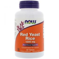 Now Foods, Red Yeast Rice, 1200 mg, 60 Tablets Biografie, wspomnienia