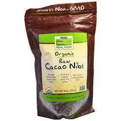 Now Foods, Real Food, Organic, Raw Cacao Nibs, 8 oz (227 g) Biografie, wspomnienia