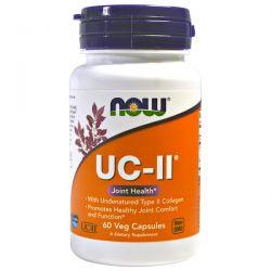 Now Foods, UC-II Joint Health, Undenatured Type II Collagen, 60 Veg Capsules Pozostałe