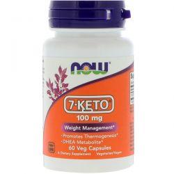 Now Foods, 7-KETO, 100 mg, 60 Veg Capsules Pozostałe