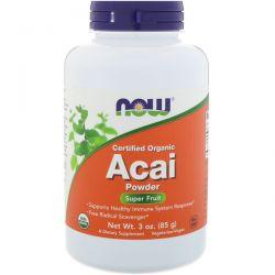 Now Foods, Certified Organic Acai Powder, 3 oz (85 g) Biografie, wspomnienia
