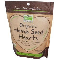 Now Foods, Real Food, Organic, Hemp Seed Hearts, 8 oz (227 g) Biografie, wspomnienia