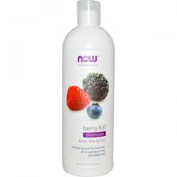 Now Foods, Solutions, Berry Full Shampoo, 16 fl oz (473 ml) Biografie, wspomnienia