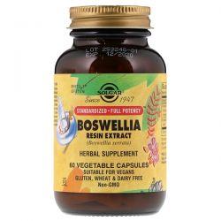 Solgar, Boswellia Resin Extract, 60 Vegetable Capsules Pozostałe