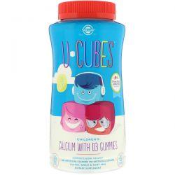 Solgar, U-Cubes, Children's Calcium With D3 Gummies, 120 Gummies