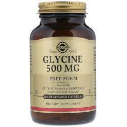 Solgar, Glycine, 500 mg, 100 Vegetable Capsules Biografie, wspomnienia