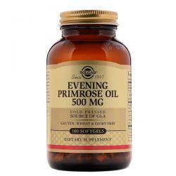 Solgar, Evening Primrose Oil, 500 mg, 180 Softgels Biografie, wspomnienia
