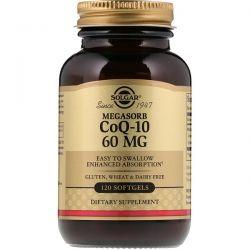 Solgar, Megasorb CoQ-10, 60 mg, 120 Softgels Zdrowie i Uroda