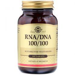 Solgar, RNA / DNA 100/100, 100 Tablets Zdrowie i Uroda