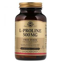 Solgar, L-Proline, 500 mg, 100 Vegetable Capsules Biografie, wspomnienia