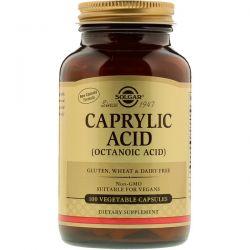 Solgar, Caprylic Acid, 100 Vegetable Capsules
