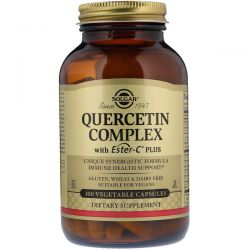 Solgar, Quercetin Complex, 100 Vegetable Capsules
