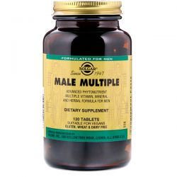 Solgar, Male Multiple, 120 Tablets