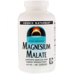 Source Naturals, Magnesium Malate, 625 mg, 200 Capsules Biografie, wspomnienia
