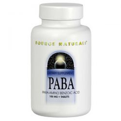 Source Naturals, PABA, 100 mg, 250 Tablets Biografie, wspomnienia