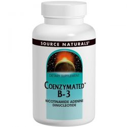 Source Naturals, Coenzymated B-3, Sublingual, 25 mg, 60 Tablets Pozostałe