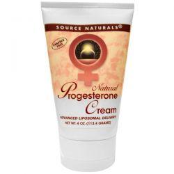 Source Naturals, Natural Progesterone Cream, 4 oz (113.4 g) Biografie, wspomnienia