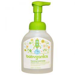 BabyGanics, Foaming Hand Soap, Chamomile Verbena, 8.45 fl oz (250 ml)