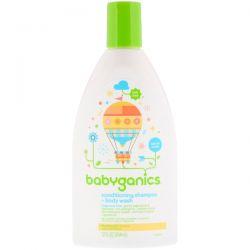BabyGanics, Conditioning Shampoo + Body Wash, Fragrance Free, 12 fl oz (354 ml) Biografie, wspomnienia