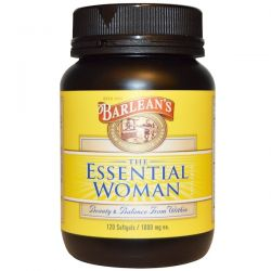Barlean's, The Essential Woman, 1000 mg, 120 Softgels