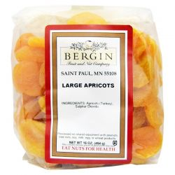 Bergin Fruit and Nut Company, Turkish Jumbo Apricots, 16 oz Biografie, wspomnienia