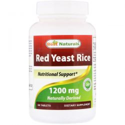 Best Naturals, Red Yeast Rice, 1200 mg, 60 Tablets Biografie, wspomnienia