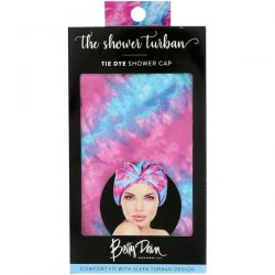Betty Dain Creations, LLC, The Shower Turban, Tie Dye Shower Cap, 1 Shower Cap