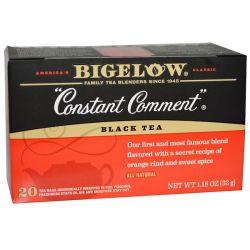 Bigelow, Black Tea, Constant Comment, 20 Tea Bags, 1.18 oz (33 g)