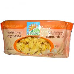 Bionaturae, Traditional Egg Pasta, Pappardelle, 8.8 oz (250 g)