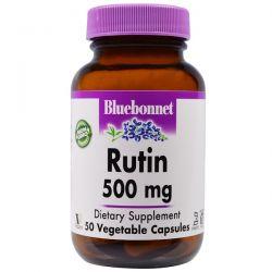 Bluebonnet Nutrition, Rutin, 500 mg, 50 Veggie Caps Biografie, wspomnienia