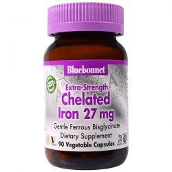Bluebonnet Nutrition, Extra Strength Chelated Iron, 27 mg, 90 Veggie Caps Biografie, wspomnienia
