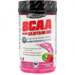 Bluebonnet Nutrition, Extreme Edge BCAA Plus Glutamine, Strawberry Kiwi Flavor, 13.23 oz (375 g)