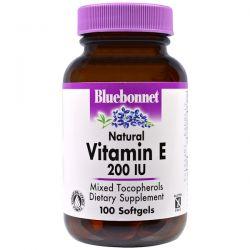 Bluebonnet Nutrition, Vitamin E, 200 IU, 100 Softgels Biografie, wspomnienia