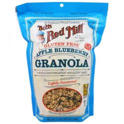 Bob's Red Mill, Apple Blueberry Granola, Gluten Free, 12 oz (340 g) Biografie, wspomnienia