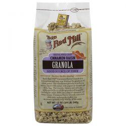 Bob's Red Mill, Cinnamon Raisin Granola, 12 oz (340 g) Biografie, wspomnienia