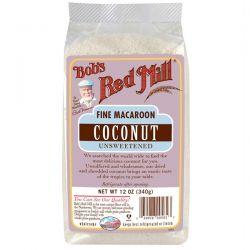 Bob's Red Mill, Fine Macaroon Coconut, Unsweetened, 12 oz (340 g) Pozostałe