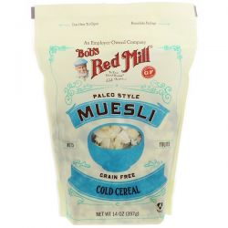 Bob's Red Mill, Muesli, Paleo Style, 14 oz (397 g) Biografie, wspomnienia