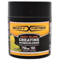 Body Fortress, 100% Pure Creatine HCL, Lemon-Lime, 3.52 oz (100 g)