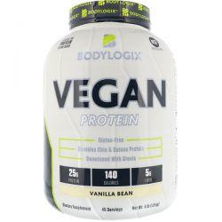 Bodylogix, Vegan Protein, Vanilla Bean, 4 lbs (1.8 kg) Pozostałe