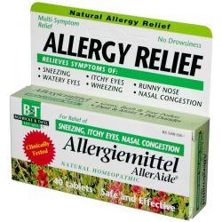 Boericke & Tafel, Allergy Relief, Allergiemittel AllerAide, 40 Tablets Pozostałe