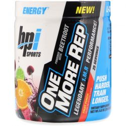 BPI Sports, One More Rep, Fruit Punch, 8.8 oz (250 g)