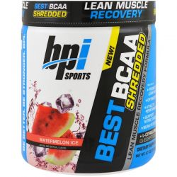 BPI Sports, Best BCAA Shredded Lean Muscle Recovery Formula, Watermelon Ice, 9.7 oz (275 g)