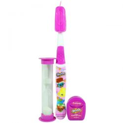 Brush Buddies, Shopkins, Toothbrushing Travel Kit, 5 Piece Kit